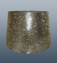 Foil gold empire drum from